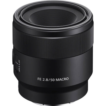 Sony FE 50mm F2.8 Full Frame E-mount Lens (Black)