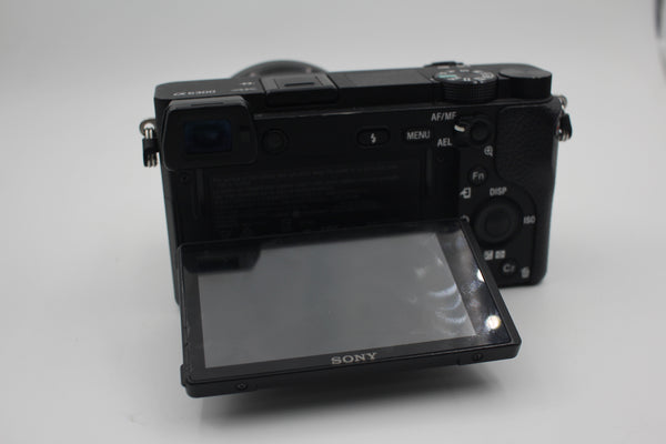 Used Sony Alpha a6300 Mirrorless Digital Camera with 16-50mm Lens (Black)