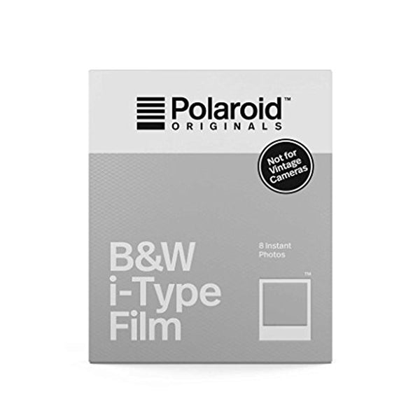 Polaroid Originals Black & White i-Type Instant Fresh Film (80 Exposures) - 10 Pack