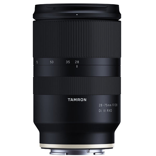 Tamron 28-75mm f/2.8 Di III RXD Lens for Sony E with Advance Striker Bundle: Includes – SD Card Reader, 3pc Filter Set, Cleaning Kit, Large Monopod, and Lens Pouch.