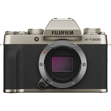 Fuji X-T200 Mirrorless Digital Camera - Champagne Gold