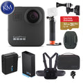 GoPro Max 360 Action Camera with Sports Kit + Handler + Super Charger + Extra Battery + Helmet Front Mount