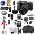 Sony Alpha a6600 Mirrorless Digital Camera with 18-135mm Lens with Premium Bundle: Includes – Sandisk Extreme Card, Spare NPFZ100 Battery, Charger for NPFZ100, and 12 inch tripod