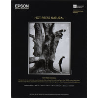"Epson Hot Press Natural Paper | 8.5 x 11"" - 25 Sheets"