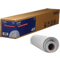 "Epson Exhibition Canvas Satin Inkjet Photo Paper 17"" x 40' - Roll"