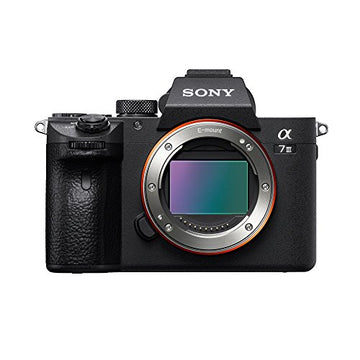"Sony Alpha a7 III Mirrorless Digital Camera - Body Only with Deluxe Striker Bundle: Includes – Memory Cards, 12"" Tripod, Camera Bag, Extra Battery, Cleaning Kit, and more"