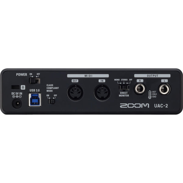 Zoom UAC-2 Two-Channel USB 3.0 SuperSpeed Audio Interface