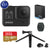 GoPro HERO8 Black Action Camera w/Extra Battery, 32GB Memory Card and GoPro Tripod Mounts with Mini Tripod