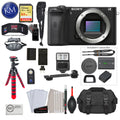 Alpha a6600 Mirrorless Digital Camera (Body Only) with Deluxe Bundle: Includes – Sandisk Extreme Card, Spare NPFZ100 Battery, Charger for NPFZ100, and 12 inch tripod
