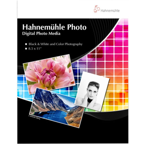"Hahnemühle Photo Paper Sample Pack | 8.5 x 11"", 14 Sheets"