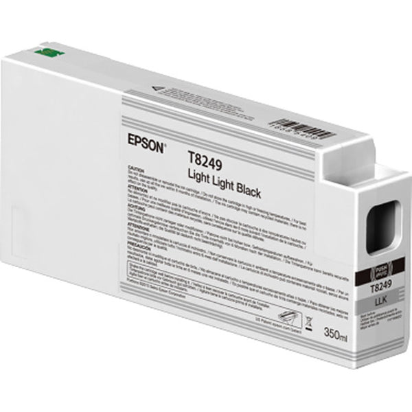 Epson T824900 UltraChrome HD Light Light Black Ink Cartridge | 350ml