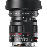 Leica Summilux-M 50mm f/1.4 ASPH. Lens - Black-Chrome Edition (Portugal)