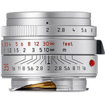 Leica 35mm f/2.0 SUMMICRON-M Aspherical Lens - Silver