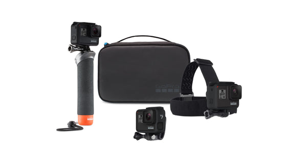 GoPro HERO8 Black Action Camera w/ GoPro Adventure Kit and 32GB Memory Card