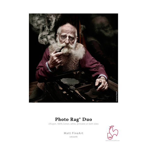 Hahnemuhle Photo Rag Duo Matte FineArt Paper 276gsm | 13 x 19 - 25 Sheets