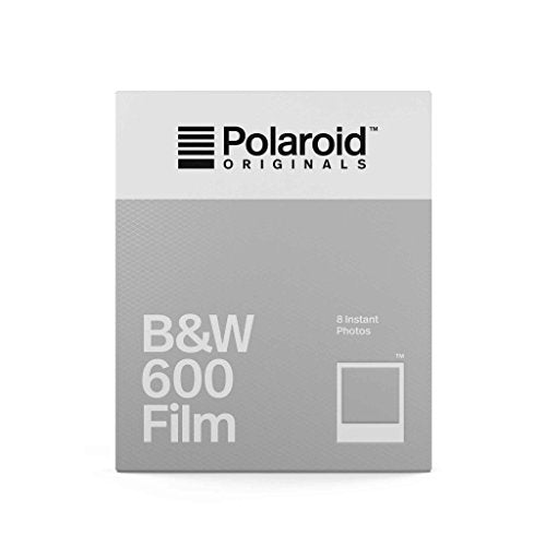 Polaroid Originals Black & White 600 Instant Fresh Film (80 Exposures) - 10 Pack