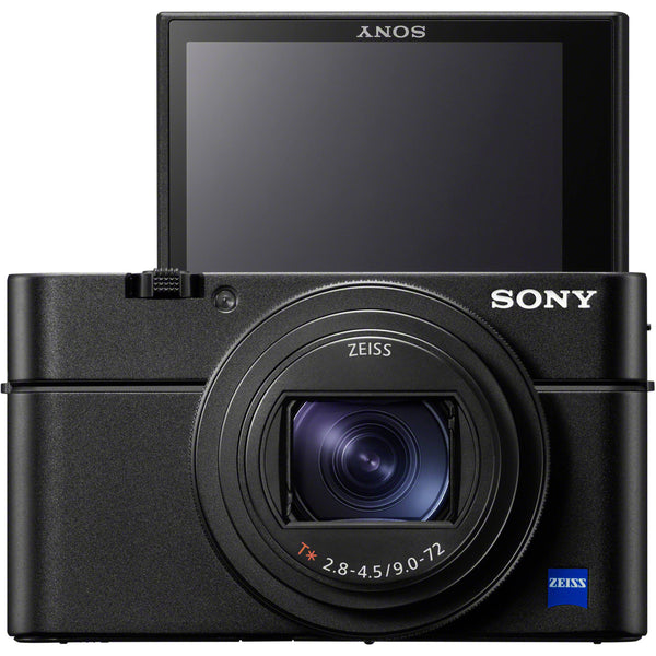 Sony Cyber-shot DSC-RX100 VII Digital Camera w/ 32GB Memory and Striker Deluxe Video Bundle