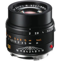 Leica APO-Summicron-M 50mm f/2 ASPH. Lens - Black
