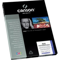 "Canson Rag Photographique 210 11""X17"" - 25 Sheets"