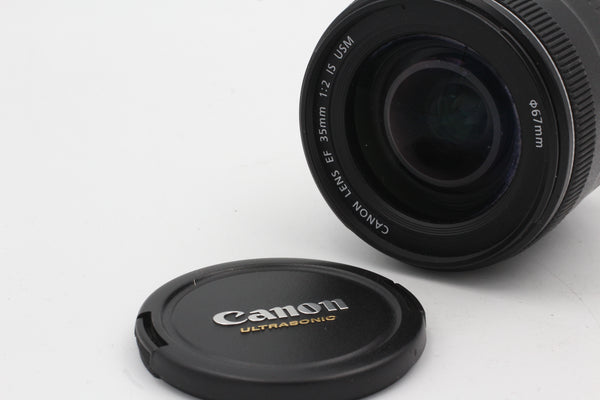 Used Canon EF 35mm f2 IS USM Used Very Good