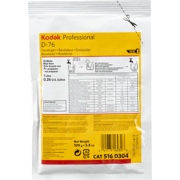 Kodak Fixer/Wash System Cleaner | Power - To Make 2.5 Gallons