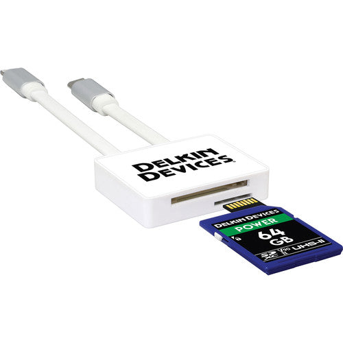 Delkin Devices qwikVIEW Lightning & micro-USB Memory Card Reader