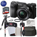 Sony Alpha a6100 Mirrorless Digital Camera with 16-50mm Lens & Advanced Striker Bundle