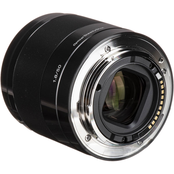 Sony 50mm f/1.8 Normal E-Mount Lens - Black