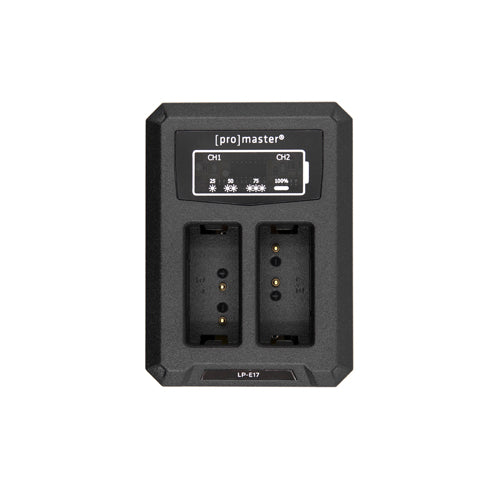 Promaster Dually Charger - USB for Canon LP-E17