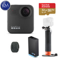 GoPro MAX 360 Action Camera w/ GoPro The Handler Floating Hand Grip and 32GB Memory Card