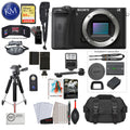 Alpha a6600 Mirrorless Digital Camera (Body Only) with Premium Bundle: Includes – Sandisk Extreme Card, Spare NPFZ100 Battery, Charger for NPFZ100, and more!