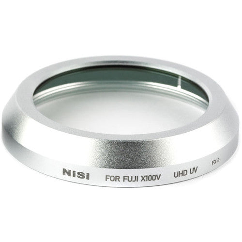 NiSi UHD UV Filter for Select FUJIFILM X100 Series Cameras (Silver)