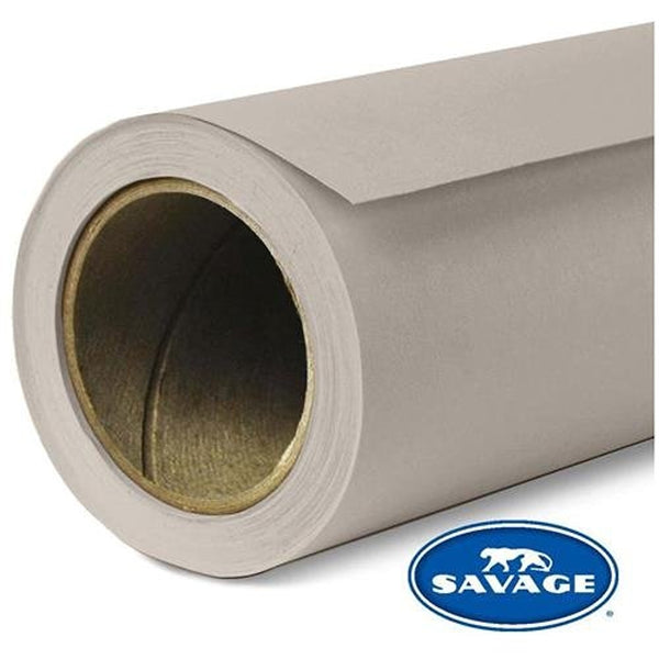 "Savage Widetone Seamless Background Paper | 86"" x 36'  -  #12 Studio Gray"