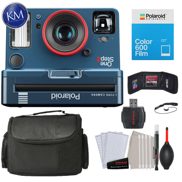 Polaroid Originals OneStep2 VF Instant Film Camera (Stranger Things Edition) with Essential Striker Bundle: Includes – Cleaning Kit, Film (8 Exposures), and Micro Fiber Cloth.