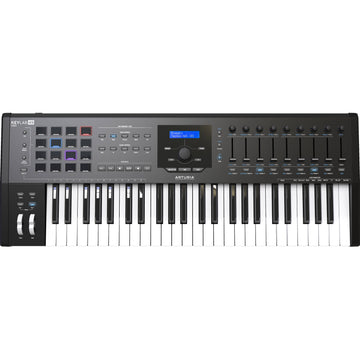 Arturia KeyLab MKII 49 Professional MIDI Controller and Software | 49 Keys - Black