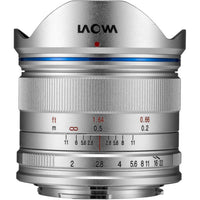 Laowa Venus Optics 7.5mm f/2 MFT Lens for Micro Four Thirds - Silver