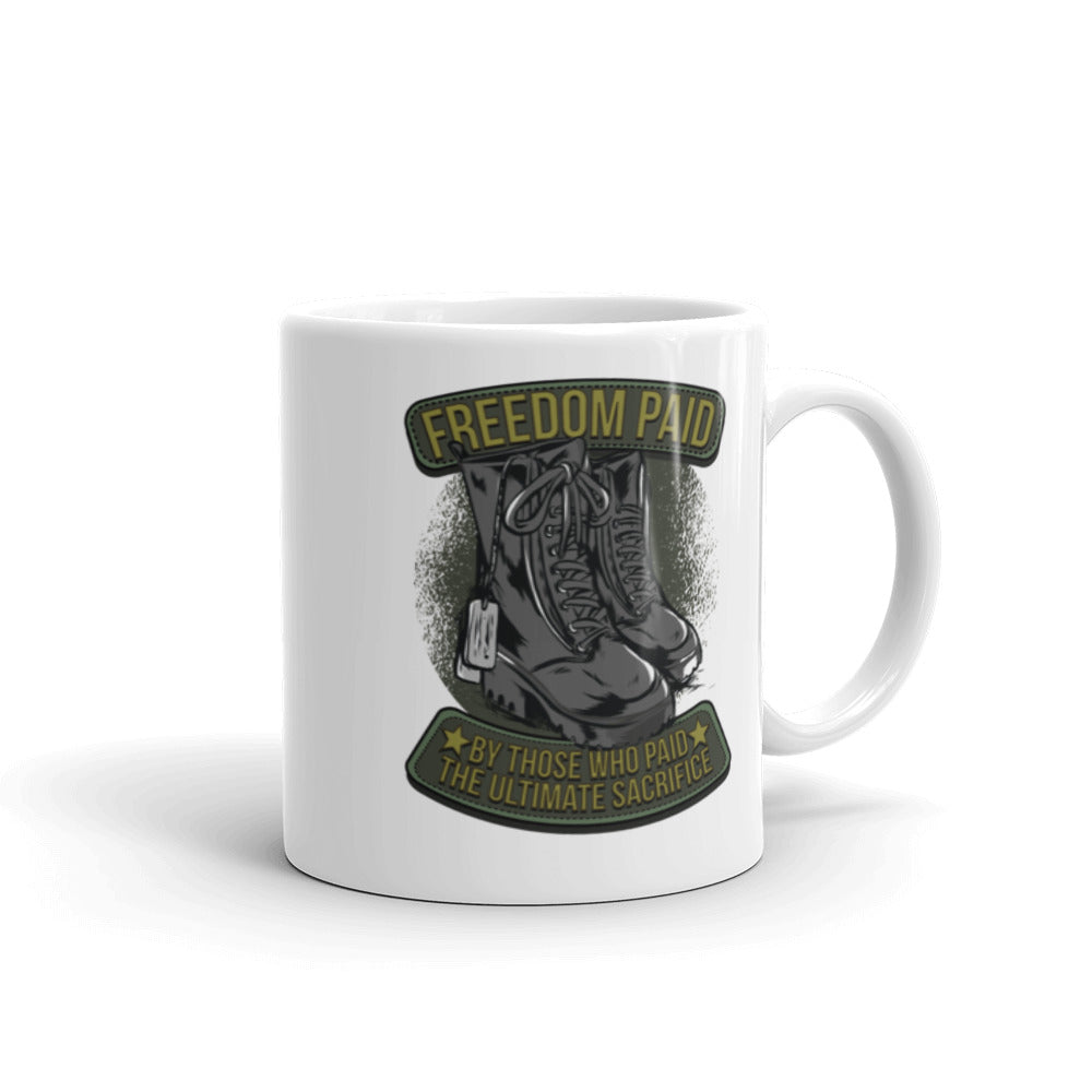 Freedom Paid Coffee Mug