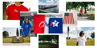 Circa 7 Lookbook | The 1 year Anniversary x Merica' Signature Tee | 7/7/19
