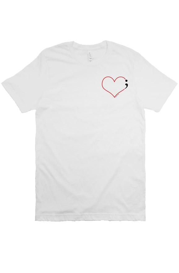 Heartbeat Tee for Suicide Prevention