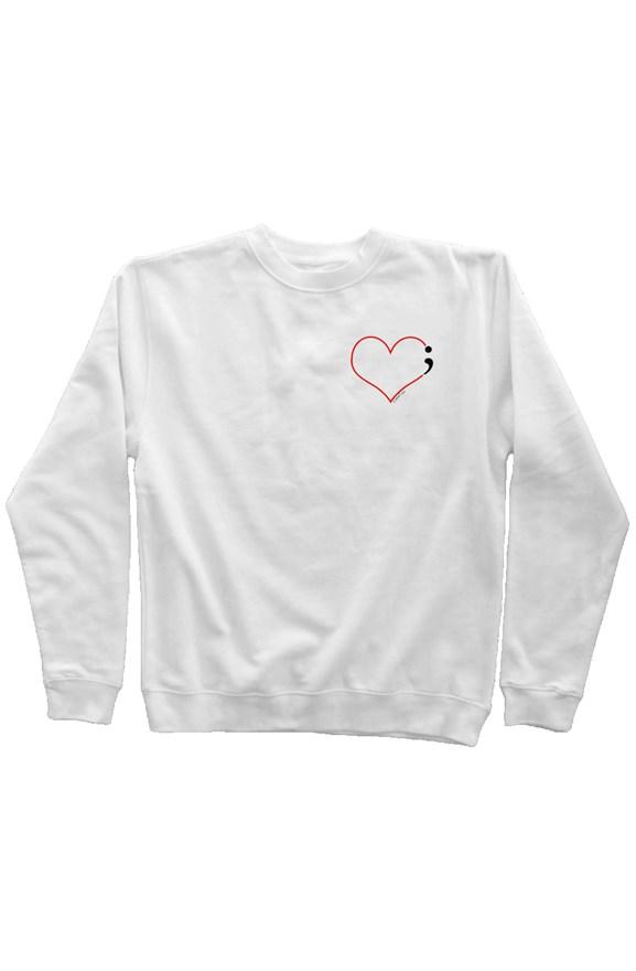 Heartbeat Sweatshirt for Suicide Prevention