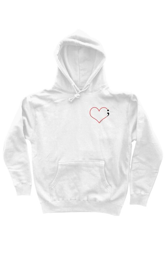 Heartbeat Hoodie for Suicide Prevention