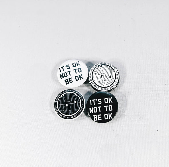 Circa 7 Mental Health Pin Pack (4 Pins/per pack)