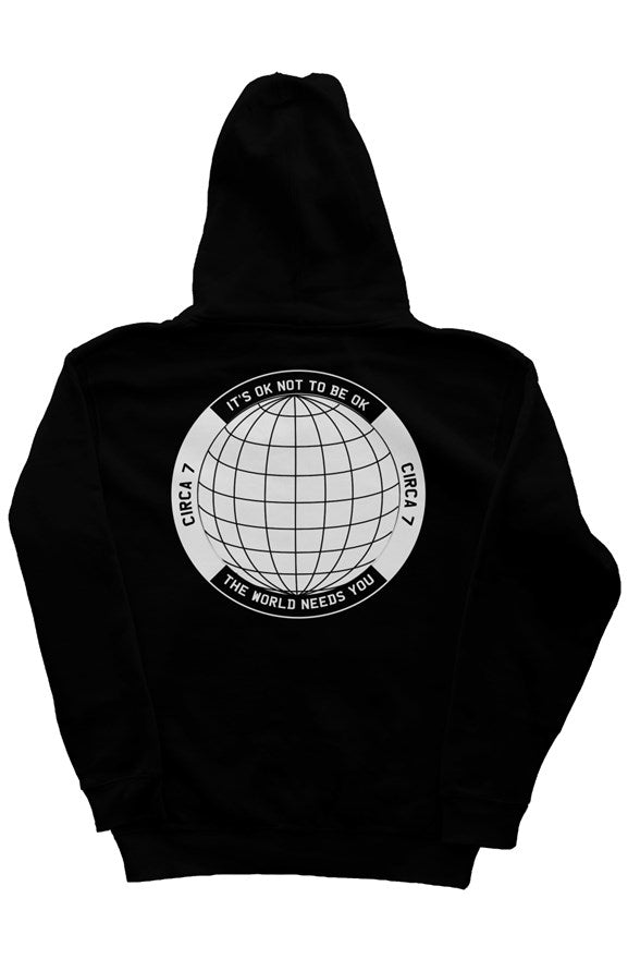 """The World Needs You"" Hoodie (Part II)"