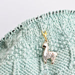 Little Alpaca Progress Keeper / Stitch Marker