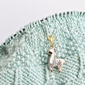 *Little Alpaca Progress Keeper / Stitch Marker *Seconds