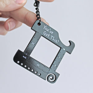 *Matte Black 'You've Got this!' Keychain Multi Tool *Seconds