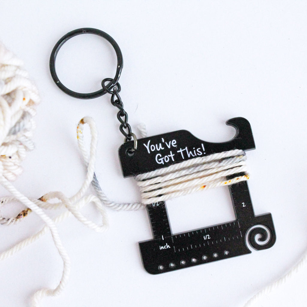 Matte Black 'You've Got this!' Keychain Multi Tool