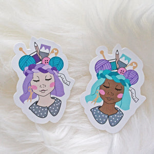 Craft Queen Vinyl Sticker