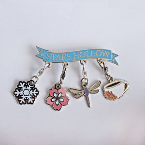 Gilmore Girls Progress Keeper Pin Set