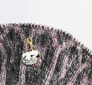 *Little Sheep Progress Keeper / Stitch Marker *Seconds